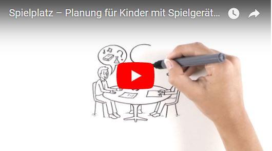 Link Video: Spielplatz – Planung für Kinder mit Spielgeräten von GTSM Magglingen AG